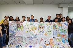 Group Photo - Intro to Art Therapy