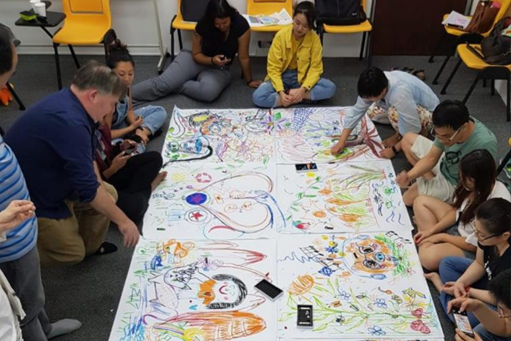 The Lion Mind - Workshop - Introduction to Art Therapy - March 2019