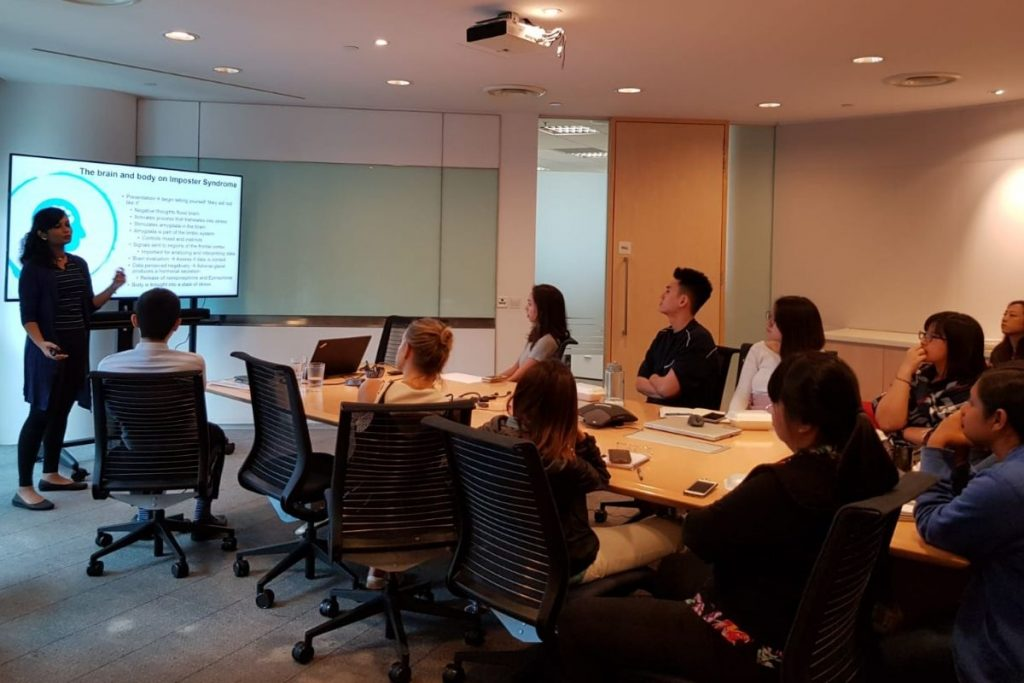 Corporate Lunch Talk - Combating Impostor Syndrome, A Definitive Guide