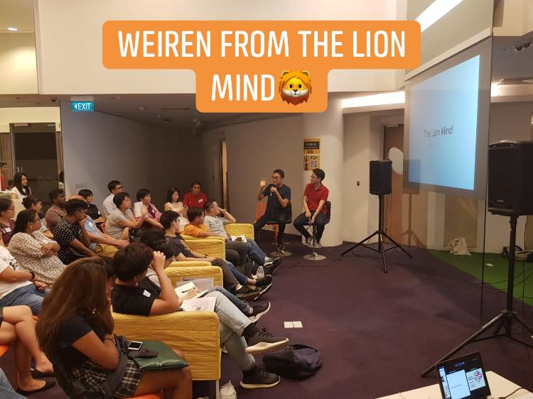 TLM Co-founder, Mr Yap Weiren, Presented his Screwed-up Moments. In Collaboration with Happiness Initiatives.